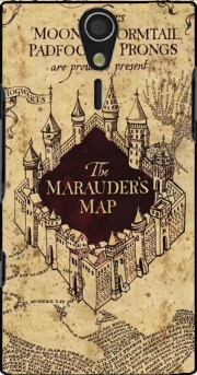 Harry Potter Marauder Map Case for Sony Ericsson Xperia S HD