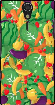 Healthy Food: Fruits and Vegetables V2 Case for Sony Ericsson Xperia S HD