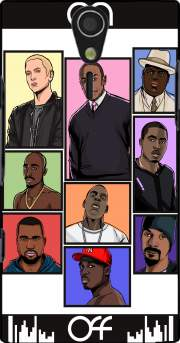 Hip Hop Legends Case for Sony Ericsson Xperia S HD