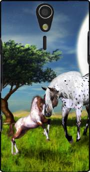 Horses Love Forever Case for Sony Ericsson Xperia S HD