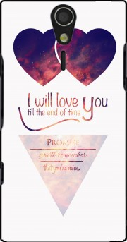 I will love you Case for Sony Ericsson Xperia S HD