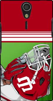 Indiana College Football Case for Sony Ericsson Xperia S HD