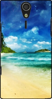 Paradise Island Case for Sony Ericsson Xperia S HD