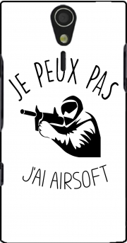 Je peux pas jai Airsoft Paintball Case for Sony Ericsson Xperia S HD
