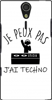 Je peux pas jai techno Festival Case for Sony Ericsson Xperia S HD