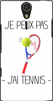 Je peux pas jai tennis Case for Sony Ericsson Xperia S HD