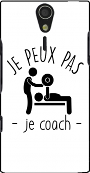 Je peux pas je coach Case for Sony Ericsson Xperia S HD