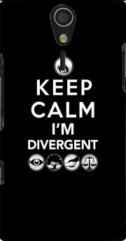 Keep Calm Divergent Faction Case for Sony Ericsson Xperia S HD