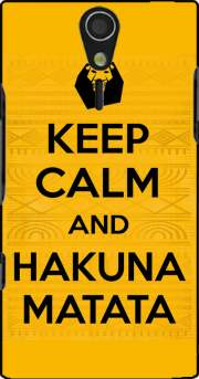 Keep Calm And Hakuna Matata Case for Sony Ericsson Xperia S HD