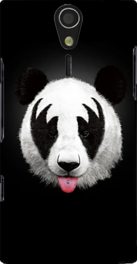 Case Kiss of a Panda for Sony Ericsson Xperia S HD