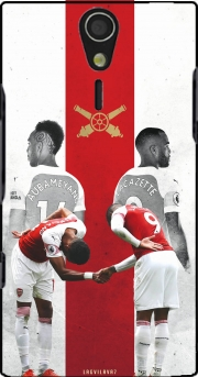 Lacazette x Aubameyang Celebration Art Case for Sony Ericsson Xperia S HD