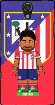 Lego Football: Atletico de Madrid - Diego Costa Case for Sony Ericsson Xperia S HD