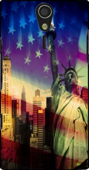 Statue of Liberty Case for Sony Ericsson Xperia S HD