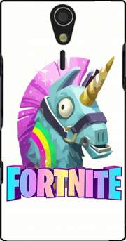 Unicorn video games Fortnite Case for Sony Ericsson Xperia S HD