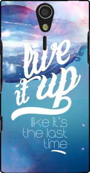 Live it up Case for Sony Ericsson Xperia S HD
