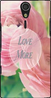Love More Sony Ericsson Xperia S HD Case