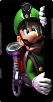Luigi Mansion Fan Art Sony Ericsson Xperia S HD Case