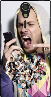 Matt Pokora Case for Sony Ericsson Xperia S HD