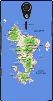 Mayotte Carte 976 Sony Ericsson Xperia S HD Case