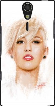 Miley Cyrus Case for Sony Ericsson Xperia S HD