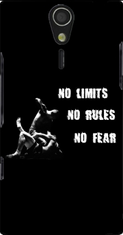MMA No Limits No Rules No Fear Sony Ericsson Xperia S HD Case