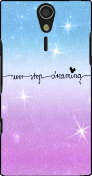 Never Stop dreaming Case for Sony Ericsson Xperia S HD