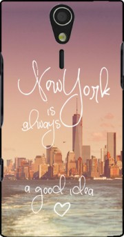 Always New York Case for Sony Ericsson Xperia S HD