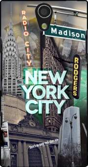 New York City II [green] Case for Sony Ericsson Xperia S HD