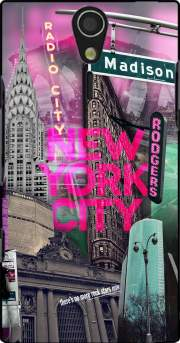 New York City II [pink] Case for Sony Ericsson Xperia S HD