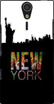 New York Case for Sony Ericsson Xperia S HD