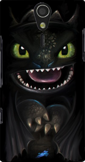 Case Night fury for Sony Ericsson Xperia S HD
