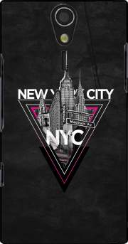 NYC V [pink] Case for Sony Ericsson Xperia S HD