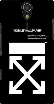 Off White Sony Ericsson Xperia S HD Case