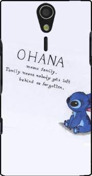 Ohana Means Family Case for Sony Ericsson Xperia S HD