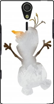 Olaf le Bonhomme de neige inspiration Case for Sony Ericsson Xperia S HD