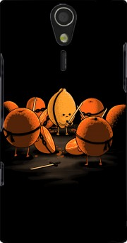 Orange Kill Fruit Case for Sony Ericsson Xperia S HD