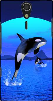 Orca Whale Case for Sony Ericsson Xperia S HD