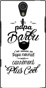 Papa Barbu comme un papa normal mais plus cool Case for Sony Ericsson Xperia S HD