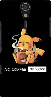 Pikachu Coffee Addict Case for Sony Ericsson Xperia S HD