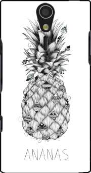 PineApplle Case for Sony Ericsson Xperia S HD