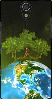 Protect Our Nature Case for Sony Ericsson Xperia S HD