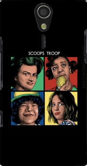 Scoops Troop Stranger Things Sony Ericsson Xperia S HD Case