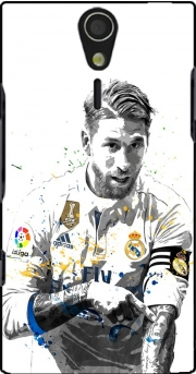 Sergio Ramos Painting Art Case for Sony Ericsson Xperia S HD