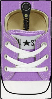 All Star Basket shoes purple Case for Sony Ericsson Xperia S HD