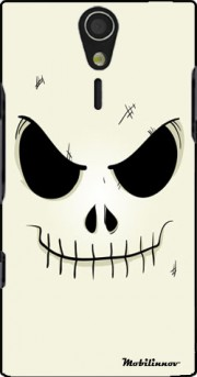 Skeleton Face Case for Sony Ericsson Xperia S HD