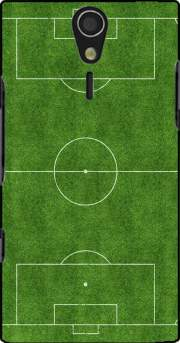 Soccer Field Case for Sony Ericsson Xperia S HD