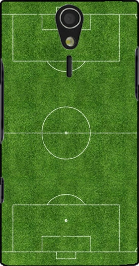Case Soccer Field for Sony Ericsson Xperia S HD