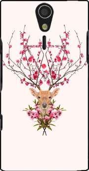 Spring Deer Case for Sony Ericsson Xperia S HD