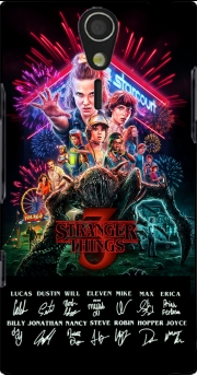 Stranger Things 3 Signature Limited Edition Sony Ericsson Xperia S HD Case