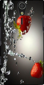 Strawberry Case for Sony Ericsson Xperia S HD